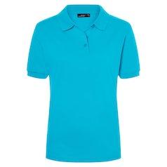 Jn071 Damespolo Turquoise