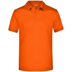 Jn576 Active Herenpolo Dark Orange