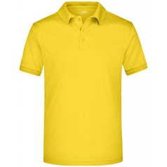 Jn576 Active Herenpolo Sun Yellow