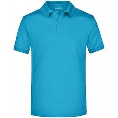 Jn576 Active Herenpolo Turquoise