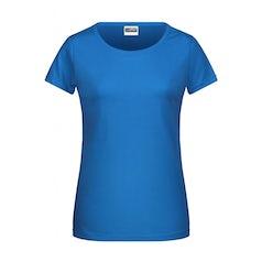 Jn8007 Dames T Shirt Organic Cobalt