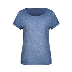 Jn8015 Organic Dames Slub T Shirt Denim