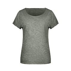 Jn8015 Organic Dames Slub T Shirt Dusty Olive