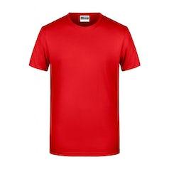 Jn8008 Heren T Shirt Organic Tomato