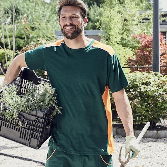 Jn860 Heren Werk T Shirt Wasbaar Op 60 Graden