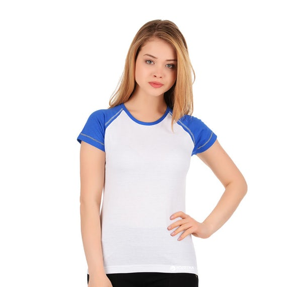 James Nicholson Jn011 Dames T Shirt Raglan T