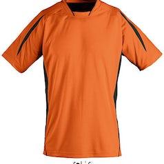 Maracana 2 Orange Black