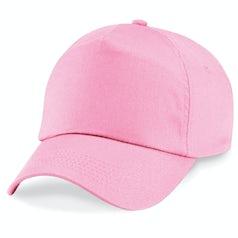 B10 B Junior 5 Panel Cap Classic Pink
