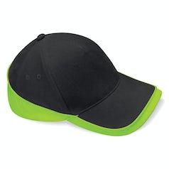 B171 Teamwear Competition Black Lime Green