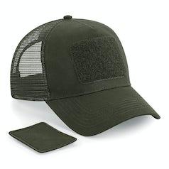 B641 Patch Snapback Trucker Cap Military Green