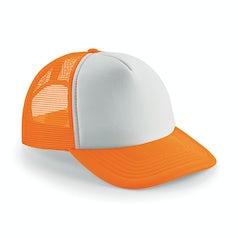 B645 Fluo Orange White