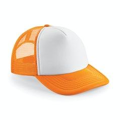 B645 Orange White