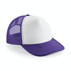 B645 Purple White