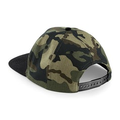 B691 Snapback Jungle Camo Black Back