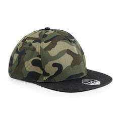 B691 Snapback Jungle Camo Black