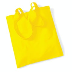 Draagtas Katoen Lang Handvat Yellow