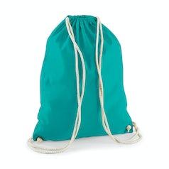 W110 Katoenen Rugtas Emerald