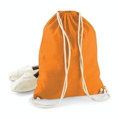 W110 Katoenen Rugtas Oranje