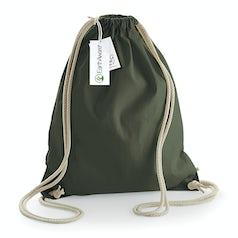 W810 Earthware Organische Katoenen Rugtas Olive Green