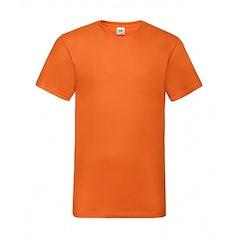 Fotl Valueweight V Neck T Shirt 61 066 0 Orange
