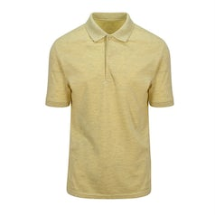 Jp032 Herenpolo Surf Yellow Front