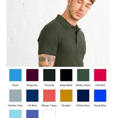 Jp100 Herenpolo Soft All Colors
