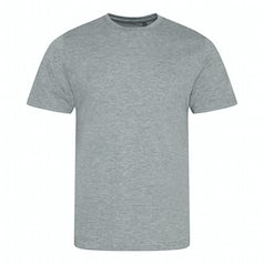 Jt001 Heren T Shirt Tri Blend Heather Grey Torso