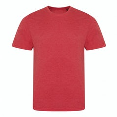 Jt001 Heren T Shirt Tri Blend Heather Red Torso
