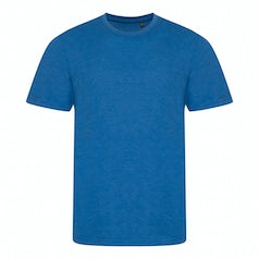 Jt001 Heren T Shirt Tri Blend Heather Royal Torso