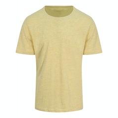Jt032 Heren T Shirt Surf Yellow Front