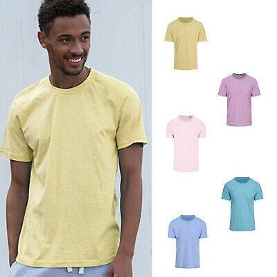 Jt032 Heren T Shirt Surf Pasteltinten
