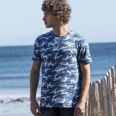 Jt034 Camo Heren T Shirt