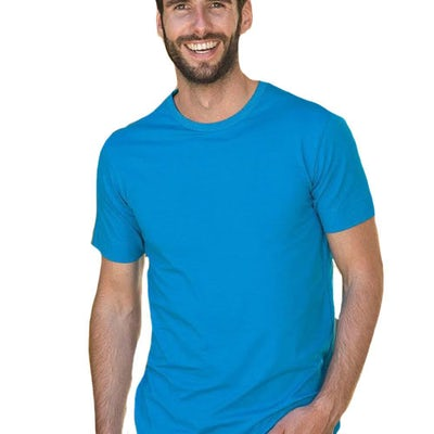 Lem1269 T Shirt Crewneck Cotton Elasthan Men