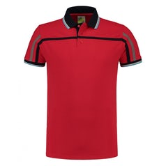 Lem3595 Tipping Polo Red
