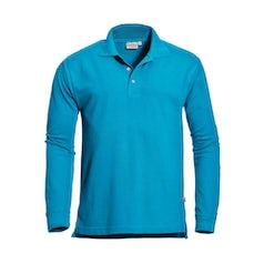 Santino Matt Poloshirt Aqua Pr Lr