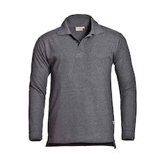 Santino Matt Poloshirt Dark Grey Pr Lr