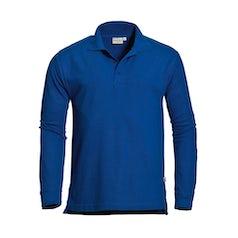 Santino Matt Poloshirt Royal Blue Pr Lr
