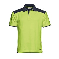 Santino Tivoli Poloshirt Lime Real Navy Pr Lr