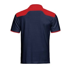 Santino Tivoli Poloshirt Real Navy Red Pr Lr Back
