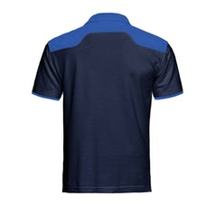 Santino Tivoli Poloshirt Real Navy Royal Blue Pr Lr Back