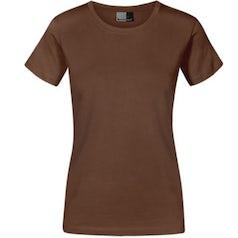 E3005 Dames T Shirt Promodoro Brown