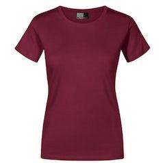 E3005 Dames T Shirt Promodoro Burgundy