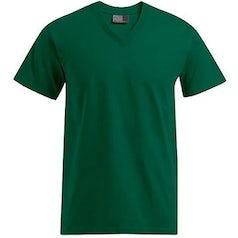 E3025 Heren T Shirt Promodoro Met V Hals Bottle Green