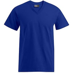 E3025 Heren T Shirt Promodoro Met V Hals Royal Blue