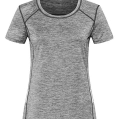 Dames Sport T Shirt Stedman Reflect St8940 Grey Heather