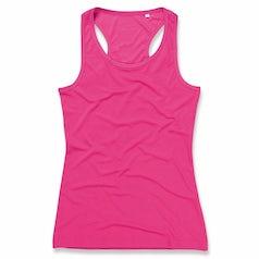 St8110 Sports Top Dames Racerback Pink