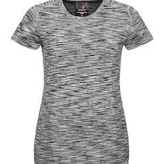 St8900 Dames Sport T Shirt Stedman Black Opal Melange