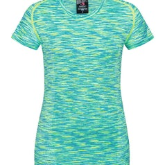 St8900 Dames Sport T Shirt Stedman Kiwi Melange