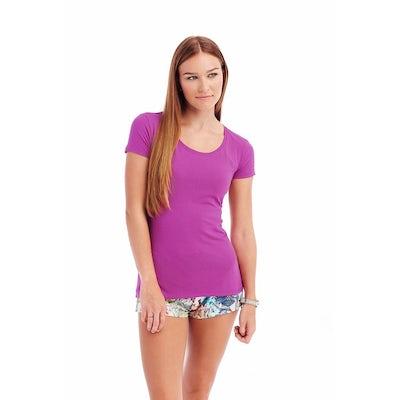 St9700 Dames T Shirt Stedman Claire Crewneck Cupcake Pink