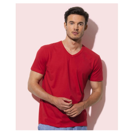 Stedman St9010 Ben V Neck Heren T Shirt